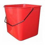 Ведро 23л для двойной уборочной тележки на 46л, красное