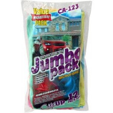 Набор салфеток микрофибра Jumbo Pack