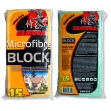 Набор салфеток микрофибра Microfibre block